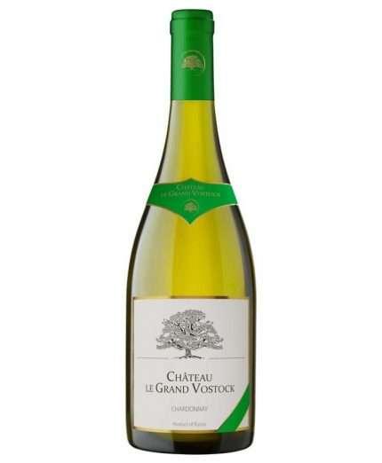 Chateau Le Grand Vostock Chardonnay dry white 2018