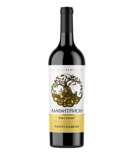 Amphitrion Riesling Late Harvest semi-sweet white 2019