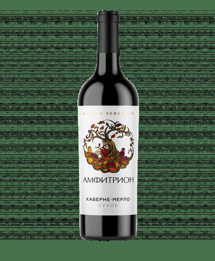 Amphitrion Cabernet-Merlot dry red 2017